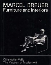 Marcel BREUER Furniture and Interiors Bauhaus Thonet Isokon Modernist Design HB!