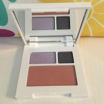 New Clinique EyeShadow Duo and Flushing blush Powder Blush Sample Size