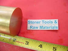 2 C360 Brass Round Rod 2 Long Solid H02 Lathe Bar Stock 200 Od X 2