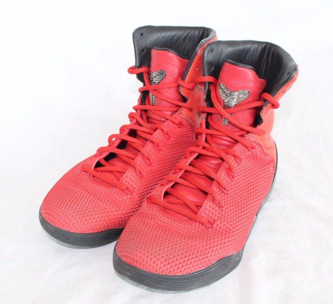 finest selection 7bd9d 2f58a Nike Kobe IX High High High KRM EXT QS Challenge Red 716993-600 SZ 8 004f35