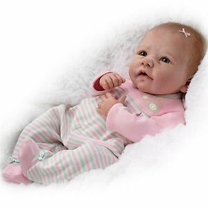 Elizabeth-Weighted-amp-Poseable-Baby-Doll-by-Ashton-Drake-New-NRFB