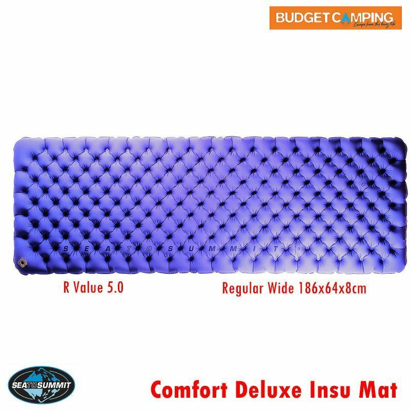 Sea to Summit Comfort Deluxe Insulated Mat Regular Wide