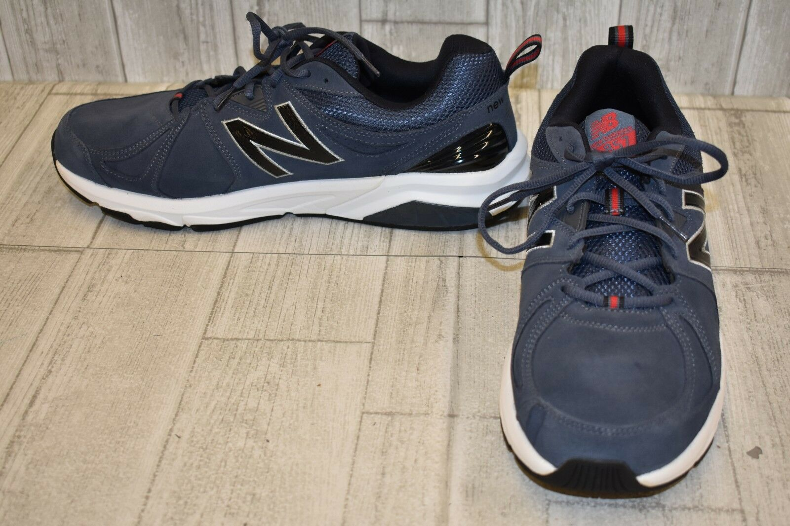New New New Balance 857v2 Cross Training scarpe, Uomo Dimensione 14D, Charcoal NEW 4ed5f5