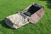 Wildfowl Lay Down Hide Blind Camo Pop Up Ground Shooting Duck Goose Hunting A1
