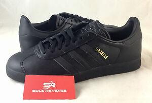 NEW adidas GAZELLE Black Metallic Gold BB5497 superstar stan smith samba c1