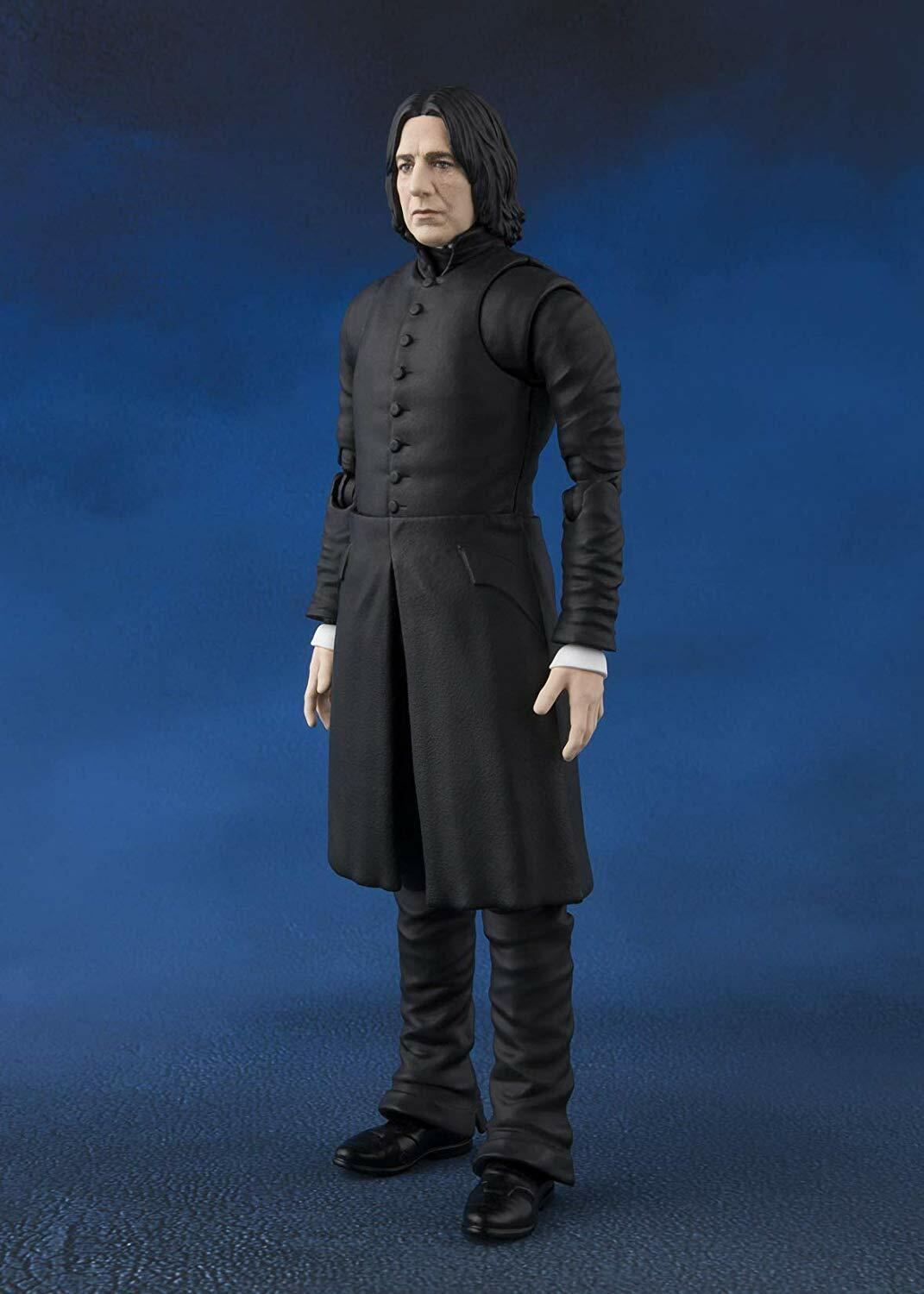 BANDAI S.H. Figuarts Harry Potter and the Sorcerer's Stone Sables Snape Figure