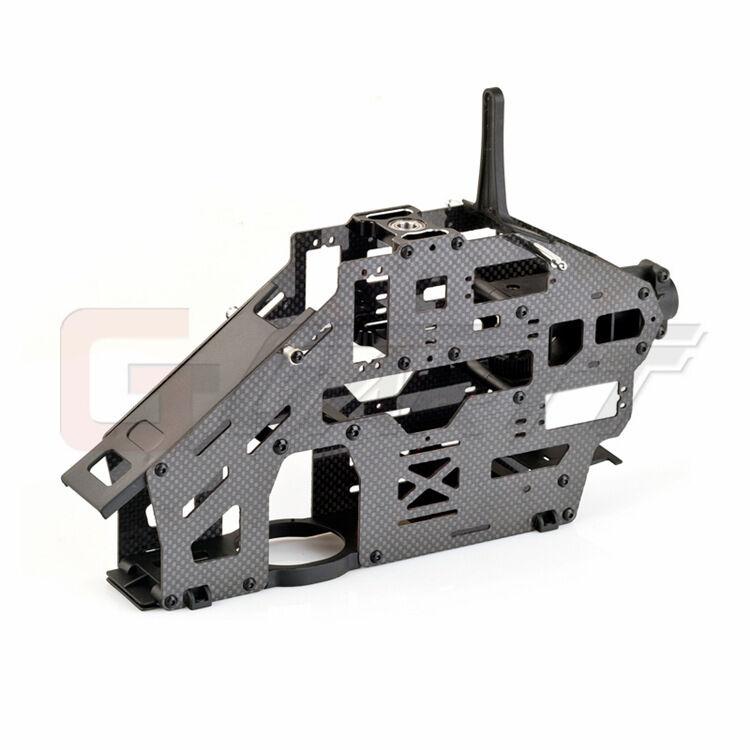 GARTT DFC  flybarless carbon fiber main fram assembly For Align Trex 500 RC Heli