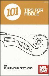 101 Pour Conseils Fiddle Music Book Par Philip John Berthoud Care Théorie Pratique-afficher Le Titre D'origine Prix De Vente Directe D'Usine