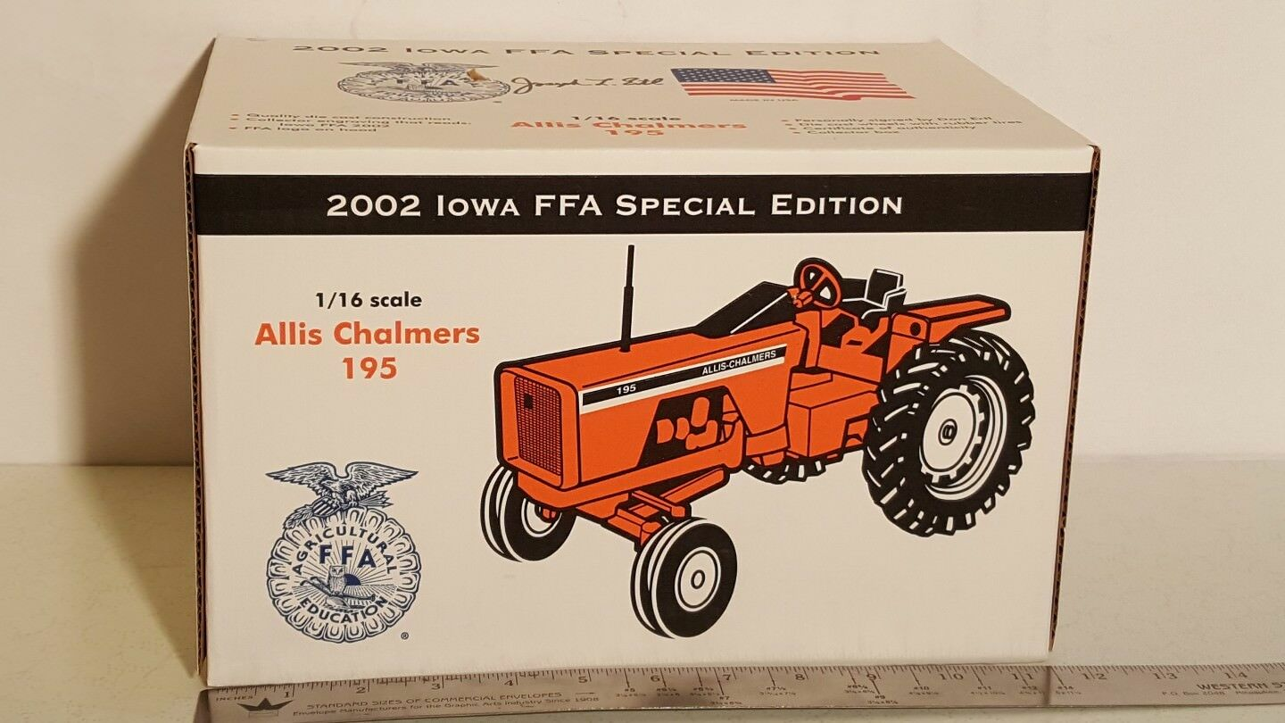 Allis Chalmers 195 1 16 diecast metal farm tractor replica by Scale Models