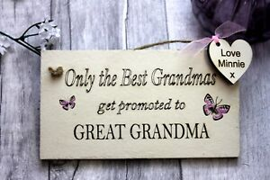 328b83fba71 Details about Grandparents Kitchen Gifts Sign - Best Grandma - Grandma Gift  - Great Grandma's