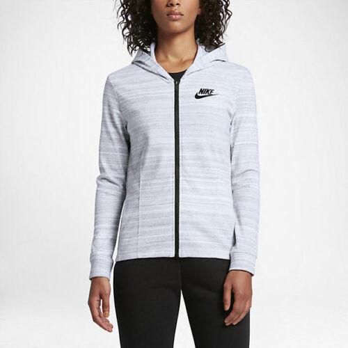 NIKE Women/'s Sportswear Advance 15 Jacket NEW AUTHENTIC White 837458-100 SZ:XS
