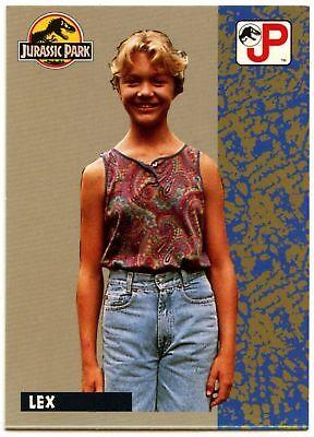 C1271 Gallimimus #80 Jurassic Park 1993 Topps German Trade Card