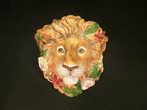 Fitz Floyd Classics Serengeti Lion King Jungle Wall Plaque Shelf