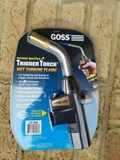 Goss GHT-100L Soldering Brazing Hand Torch with Hot Turbine Flame and Piezo Lighter Tip Goss Inc.
