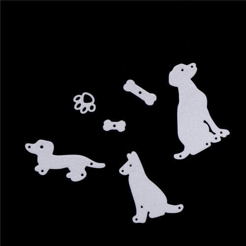 dog with bone scrapbook cuttings die metal die cuts for diy scrapbooking decoLTA