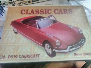 1/16 Citroen Ds 19 Cabriolet Heller Circulation Sanguine Tonifiante Et Douleurs D'ArrêT