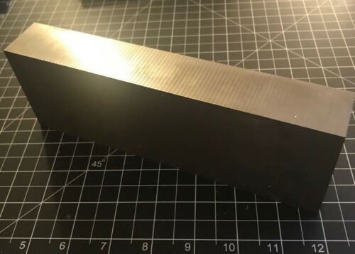 "AMS 4911 Grade 5 Titanium Block 6AL-4V 6-4 Annealed 8.25/"" x 2.75/"" x 1.25/"" 4.8lbs"