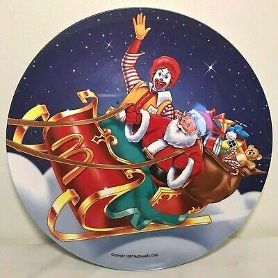 MC DONALD/'S COLLECTIBLE  HOLIDAY CHRISTMAS PLATE
