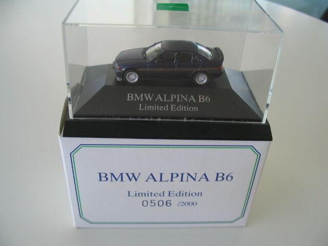 Original alpina b6 e36 Limited Edition coche modelo werbemodell Herpa muy raras