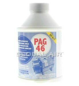 Details about A/C Compressor Oil 8oz/ PAG Oil 46 WITH UV DYE A/C System Oil  For R-134A