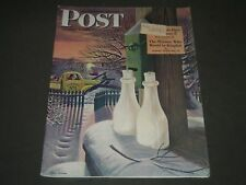 1944 JANUARY 8 THE SATURDAY EVENING POST MAGAZINE - ILLUSTRATED COVER - SP 107
