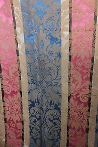 French-Vintage-c1930s-Jacquard-Woven-Home-Dec-Frame-Emberline-Fabric