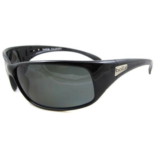 Bolle Sunglasses Recoil 10405 Shiny Black Grey Smoke Polarized