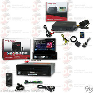 pioneer avh x7800bt 7 flip up dvd bluetooth stereo plus. Black Bedroom Furniture Sets. Home Design Ideas