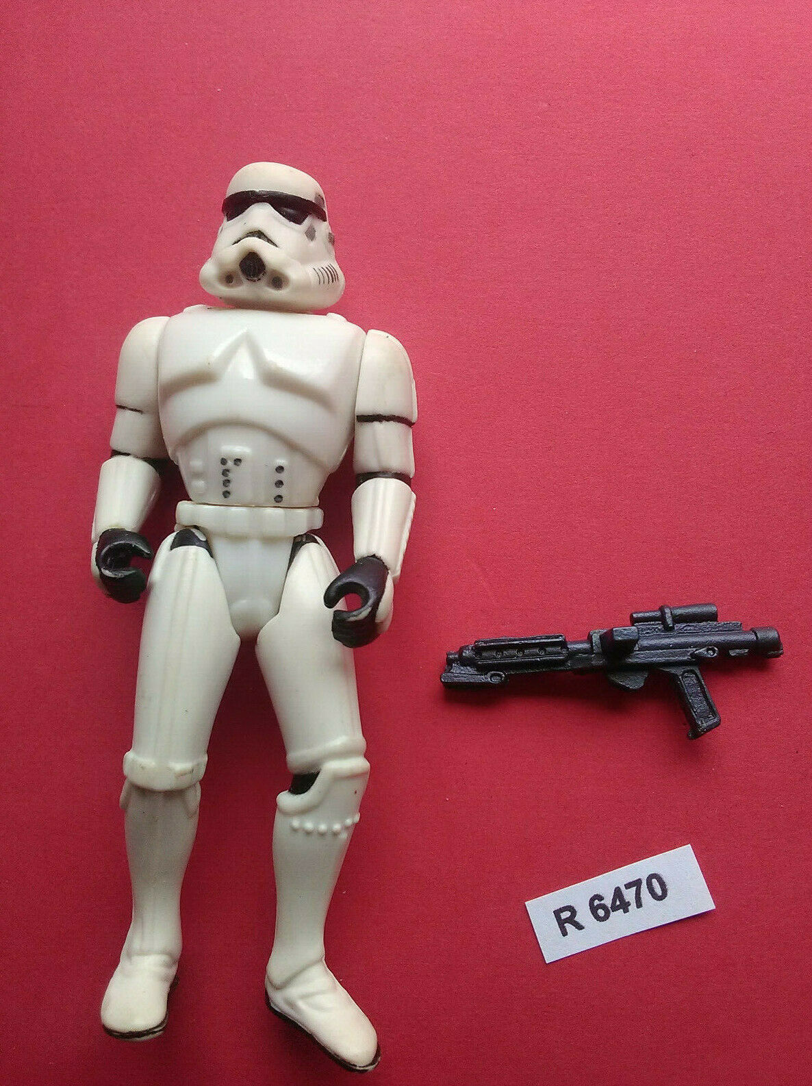 StarWars figurine : STAR WARS - STORMTROOPER AVEC ARME - EMPIRE - ANNEE 1995 - FIGURINE - REF 6470