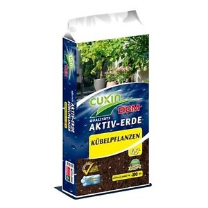 Brillant Cuxin Dcm Actif-terre Plantes En Pot 45 L-afficher Le Titre D'origine Suppression De L'Obstruction
