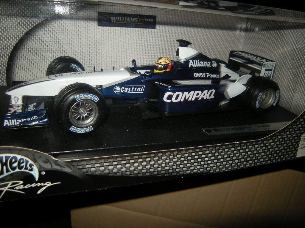 1 18 Hot Wheels Williams F1 Team Team Team FW24 Ralf Schumacher OVP bd5eae