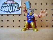 Marvel Super Hero Squad THOR Variant Asgardian Armor w/ Beard from Wave 5
