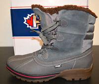 Pajar Banff-2 Men's Dark Grey Waterproof Boot Sz 10-10.5 U.s. Eur 43 Fur Lined