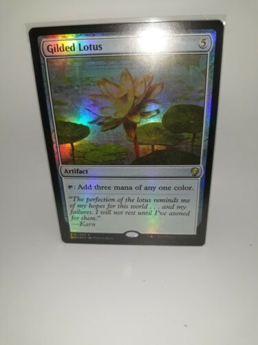Gilded Lotus Foil x1 Magic the Gathering Dominaria MTG