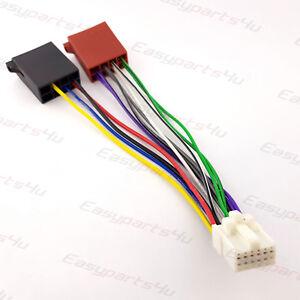 panasonic wiring harness ebay iso 12pin wiring harness adapter panasonic cq 824eg 858eg e01veg  iso 12pin wiring harness adapter