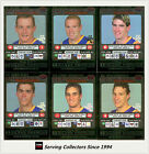 2001 Teamcoach Trading Cards Silver Prize Team set Brisbane (6)