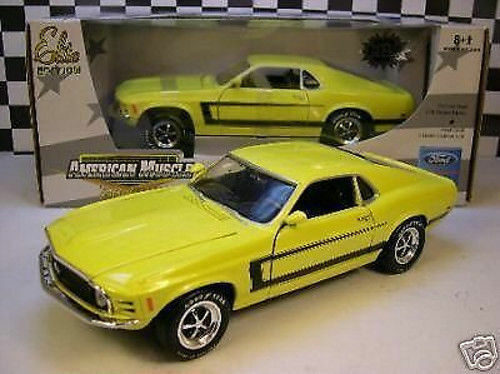 1 18 ERTL - 1970 Ford Mustang Grapper Yellow