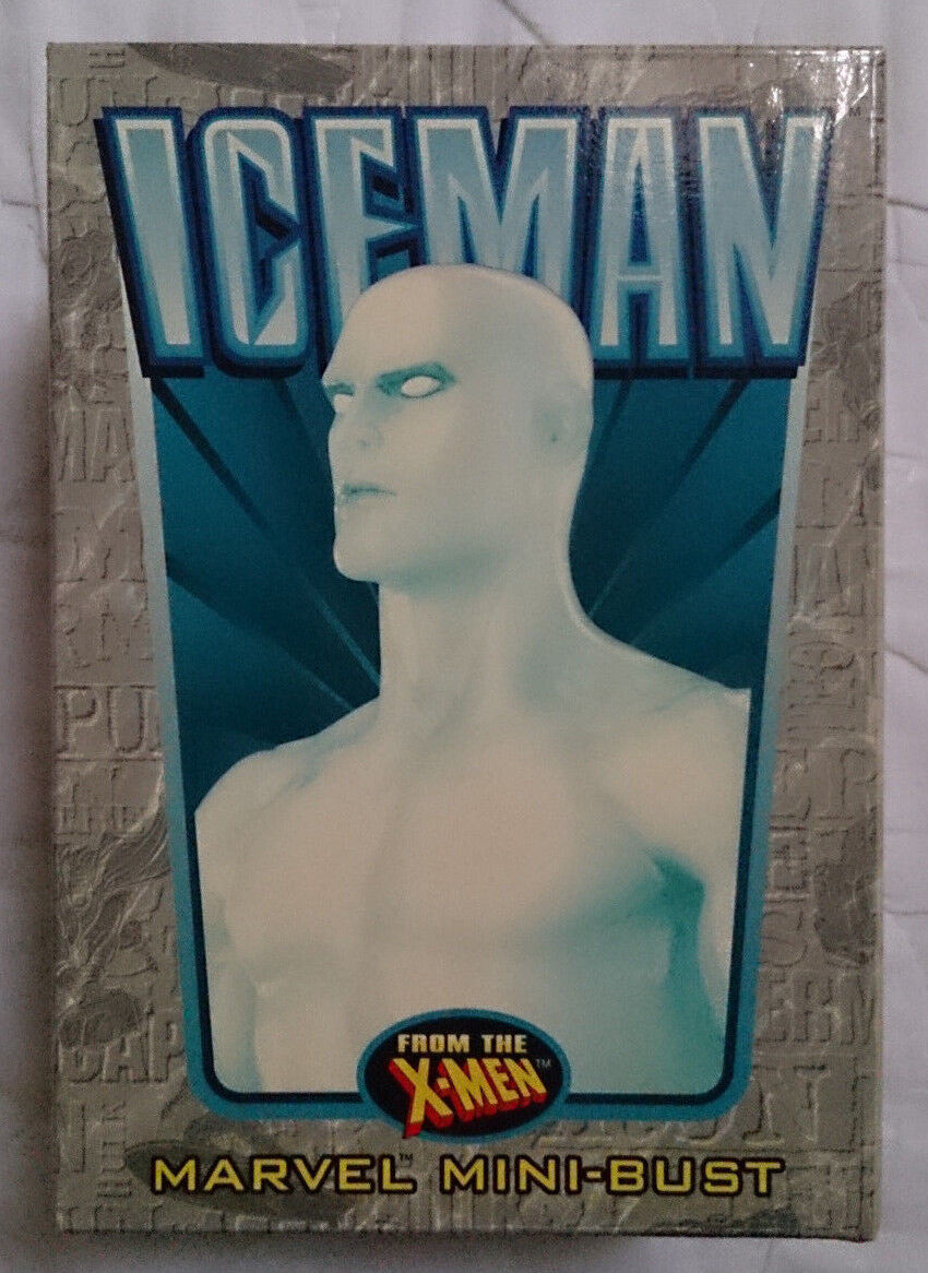 Marvel Comics Bowen X-Men Iceman mini bust statue with box