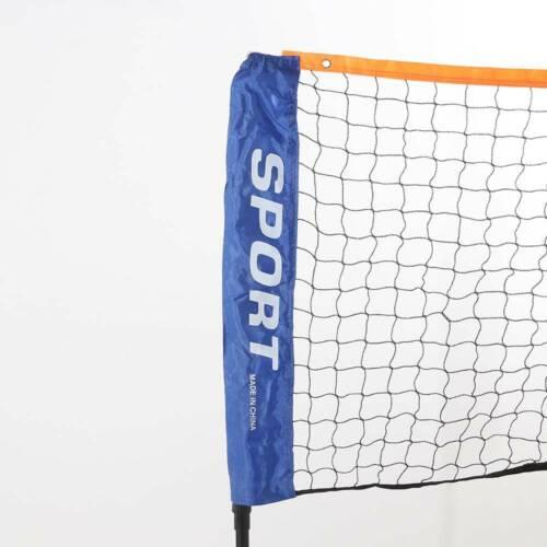 NEW Small 3m Adjustable Mini Foldable Badminton Tennis Volleyball Net