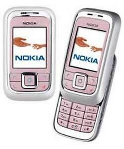 Pink Nokia 6111 Cheap Slide Mobile Phone Unlocked With New Chargar