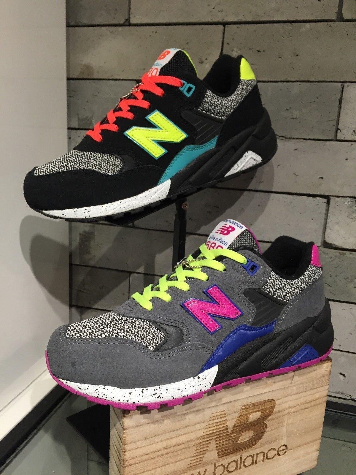 New Balance WRT580 Lifestyle femmes Athletic chaussures WRT580BK noir WRT580GY gris