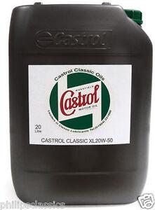 CASTROL-CLASSIC-XL-20W50-HUILE-DE-MOTEUR-20L