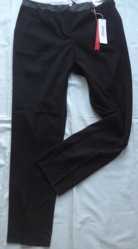 932 808 Sheego Pantalon stoffhose Pantalons Taille 40 à 58 Noir 395