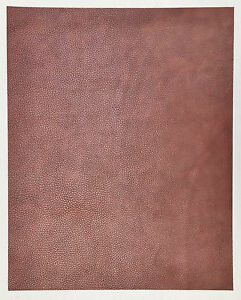 DYED VEG TAN LEATHER COWHIDE CRAFT 2.3-2.5MM THICK PINK