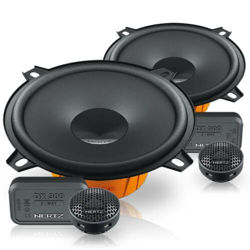 8l Hertz altavoces 130mm componentes boxeo para audi a3 96-03 Front