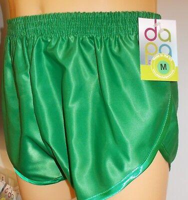 Green Retro Nylon Satin Football Shorts S 4XL,Purple