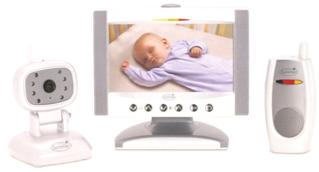 "Camera /& Parent Unit Summer Infant Day /& Night 7/"" LCD Flat Screen Color Monitor"