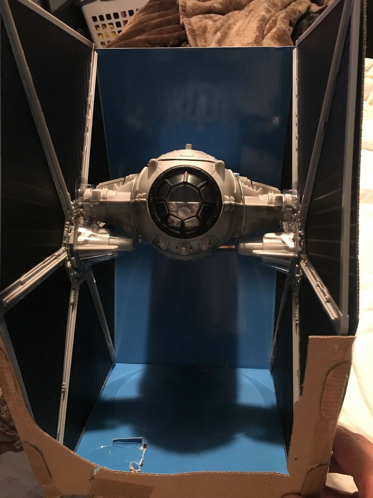 Stern Wars Legacy Sammlung Ecliptic Evader Tie Fighter Previews Exclusive  NEW