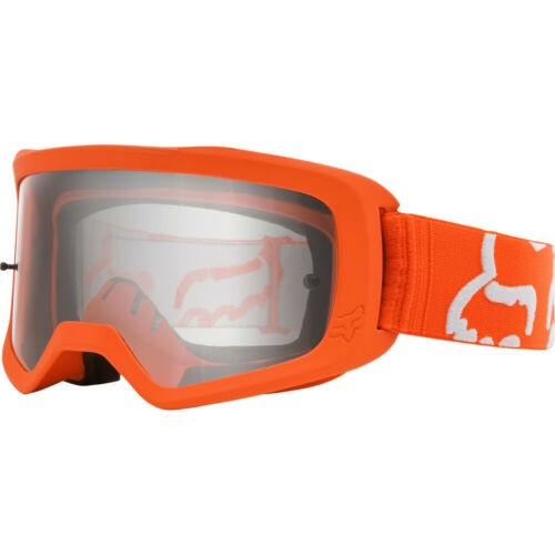 Fox MX 2020 Main 2 Race FLO Orange Clear Motocross Riding Goggles