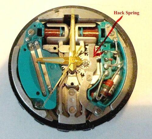 Bulova Accutron 214 Optional Hack Spring-Free Shipping
